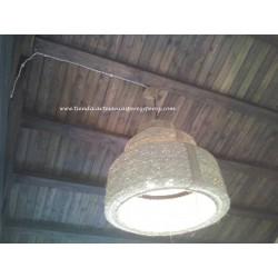 Lámpara invertida redonda triple
