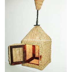 Lantern of esparto