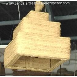 Square triple lamp
