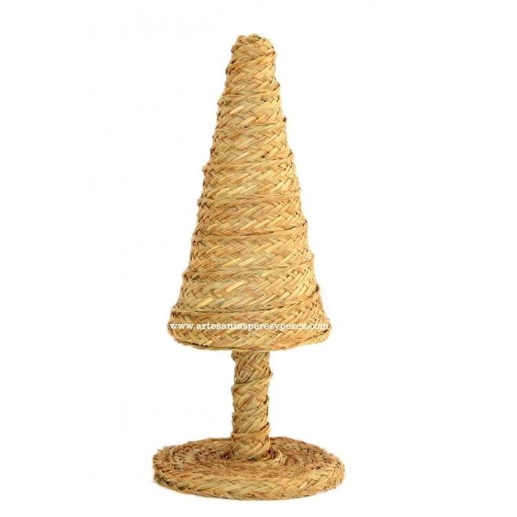 Árbol de Navidad de esparto