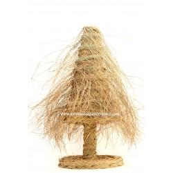 Árbol de Navidad con flecos