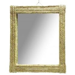 Miroir rectangulaire vertical une pleita