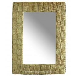 Espelho entrelaçado vertical