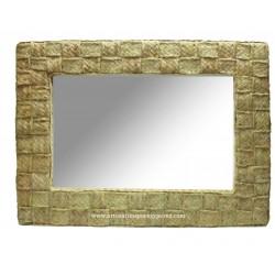 Miroir horizontal entrelacé