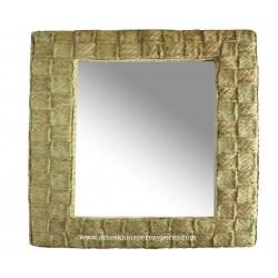 Espelho entrelaçado quadrado
