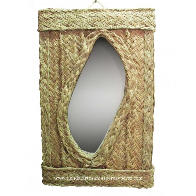 Espejo rectangular desigual nº2