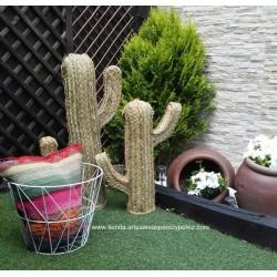 Cactus de esparto natural