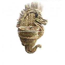 Wall seahorse plant pot