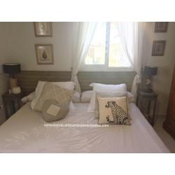 Tête de lit au lit sans traverse (choisir des mesures)