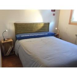 Cabecero de cama de esparto sin cruceta (elegir medidas)