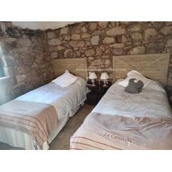 Cabecero de cama de esparto con cruceta (elegir medidas)