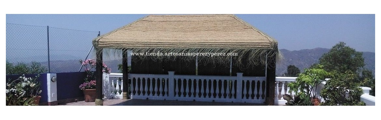 Fabricamos toldos para pérgolas,zócalos,sombrillas de playa,techos...